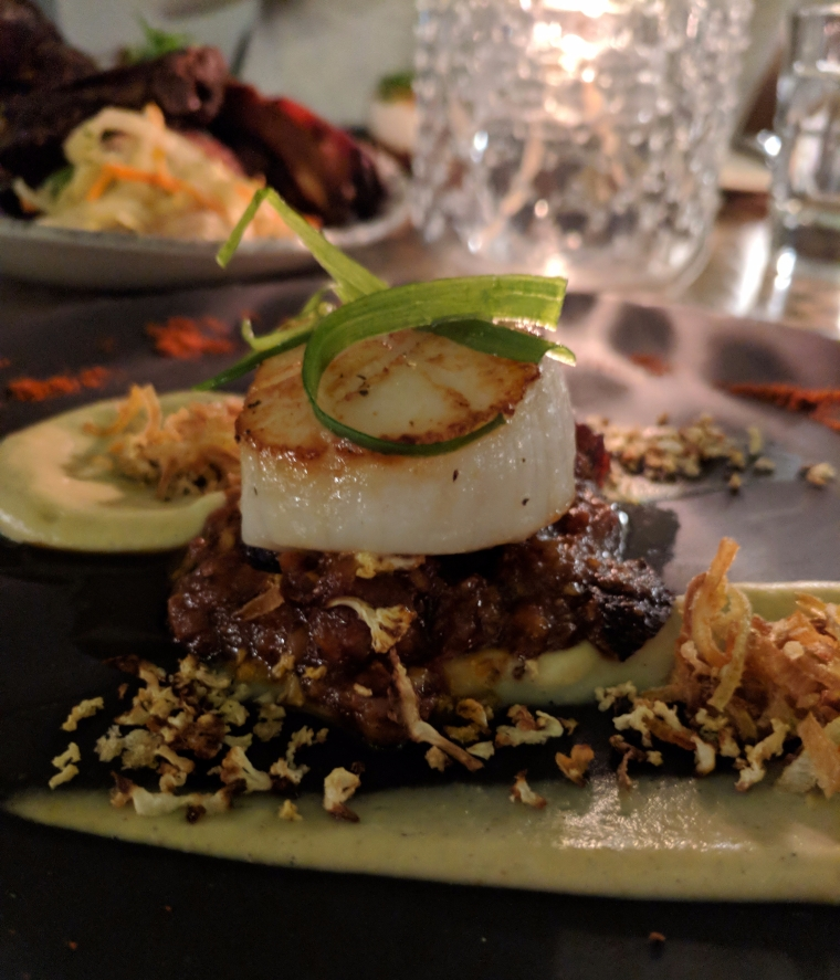 fairmont_travel_travelgram_holiday_vacation_foodie_foodlover_yum_yummy_delicious_datenight_healthy_scallops_beef_