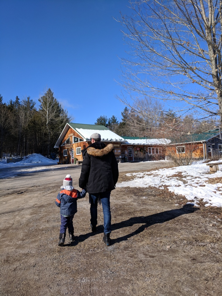 Fun at Fultons Pancake House and Sugar Bush